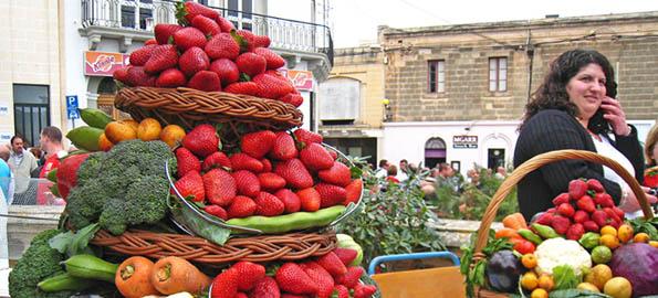 Maltese strawberries