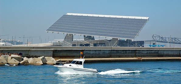 solar energy plant. Shape of things to come in Malta?
