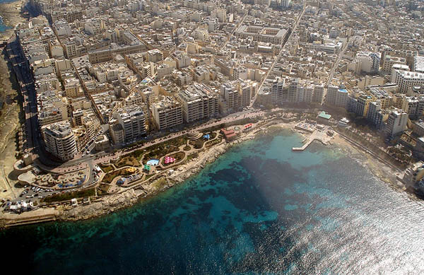 Exiles Beach Sliema, Malta