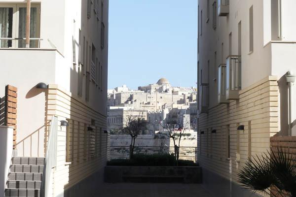 Tigne Point exclusive housing overlooking Malta's capital Valletta