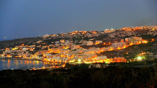 Mellieha on the eve of August. Photo: Leslie Vella