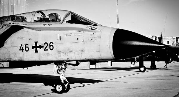 German Air Force Tornado. Photo: Susan Attard