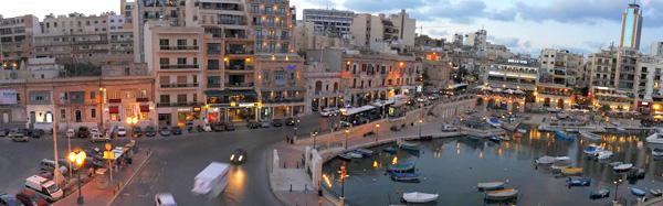 St Julian's, Malta, Spinola Bay