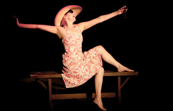 Isabel Warrington in Shirley Valentine, Malta, May 2014