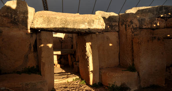 Mnajdra temples on Soltice morning