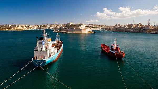 Grand Harbour vista, Malta. Photo: Dragana Rankovic