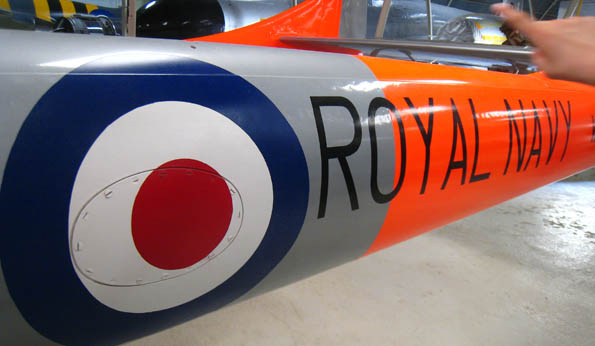 It's an up close and personal visitor experience a the Malta Aviation Museum