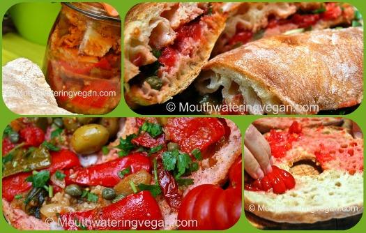Ftira with giardiniera - Malta's summer snack heaven