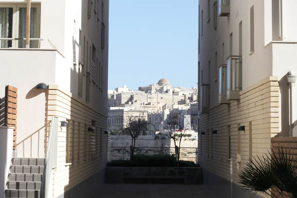 Tigne Point exclusive housing overlooking Malta's capital Valletta