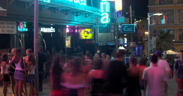Paceville Street Scene. Photo: Spacing Magazine
