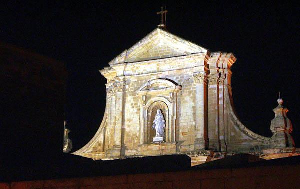 Cathedral, Victoria, Gozo within Cittadella. Photo: Leslie Vella