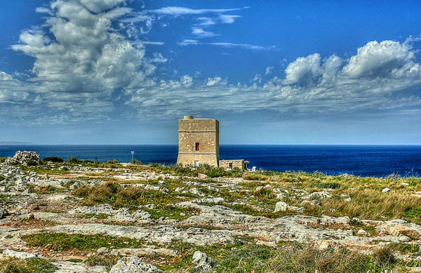 Madliena Tower, Malta. Photo: Leslie Vella